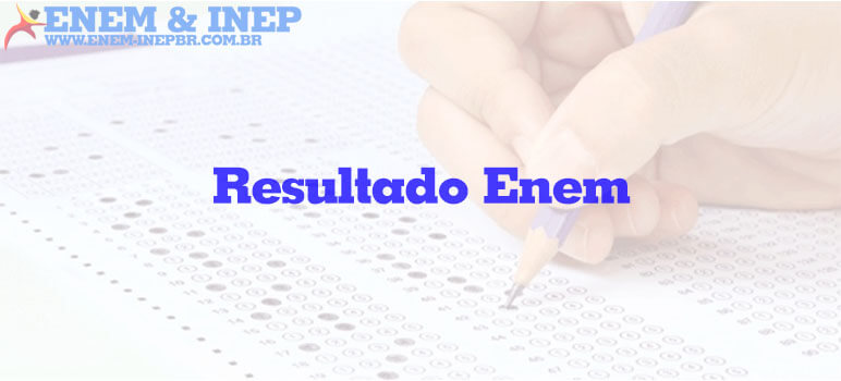 Resultado do Enem